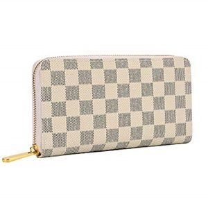Handbags - NWT Checked faux leather wallet